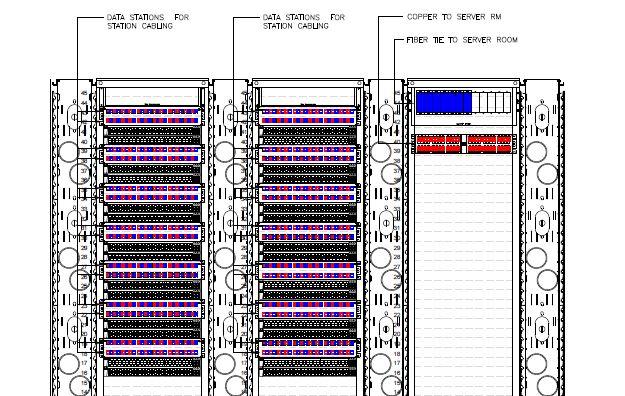 Telcom Rack Drawing