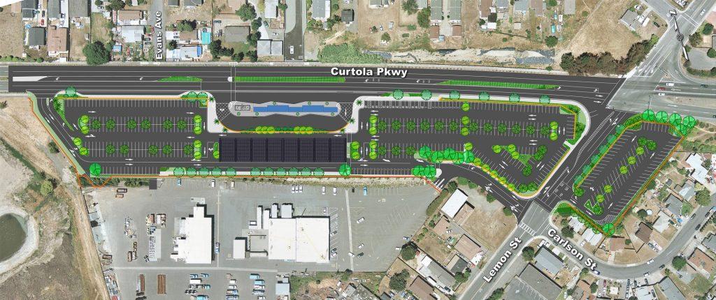 Curtola Park & Ride Hub, Vallejo