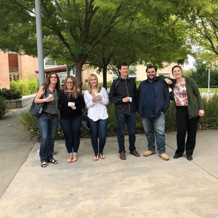 WBE Team Went To SRJC School To Pass Out Gift Cards