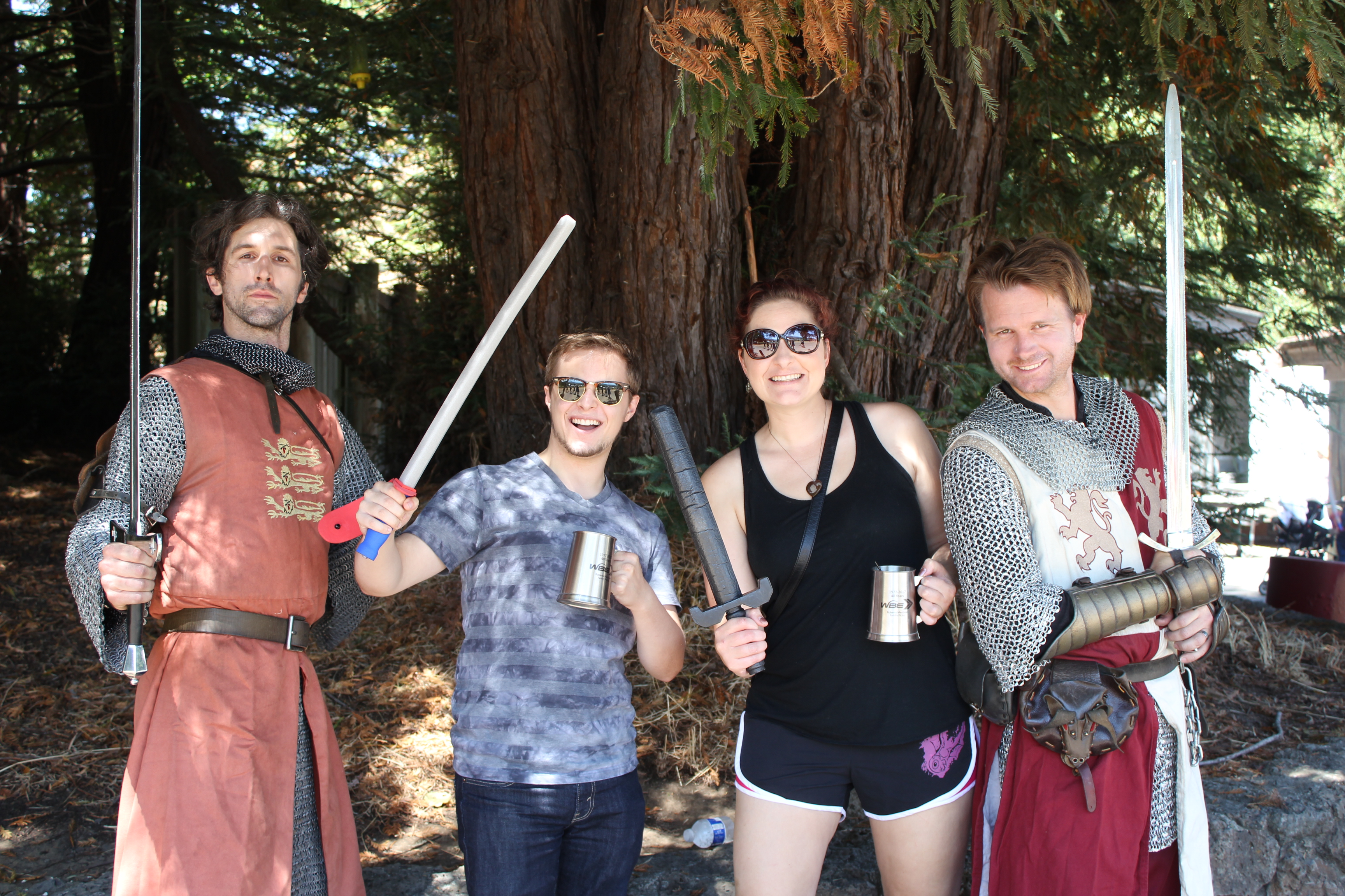Our annual company picnic was Rennaisance themed this year!