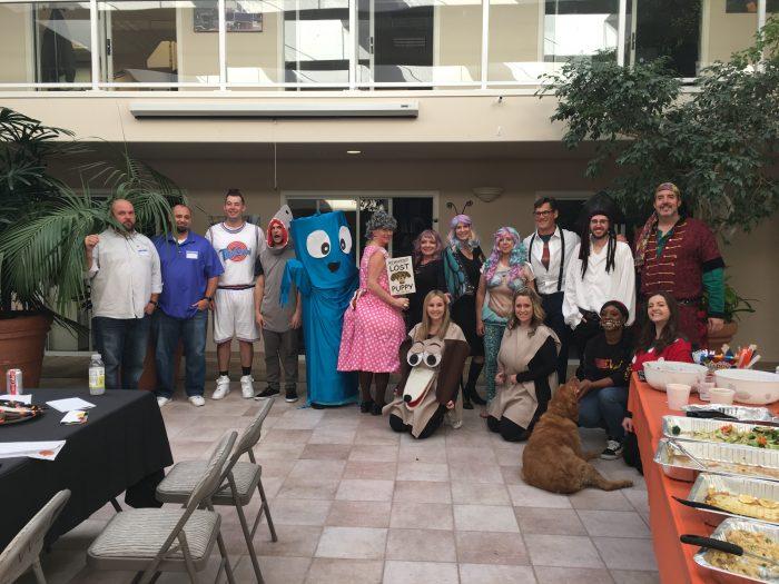 WBE annual Halloween costume contest participants!