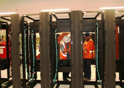 Installation Of 46 Eaton Wright Line Cabinets
