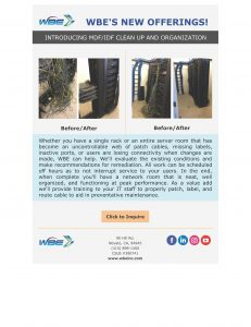 MDF/IDF Clean Up and Organization