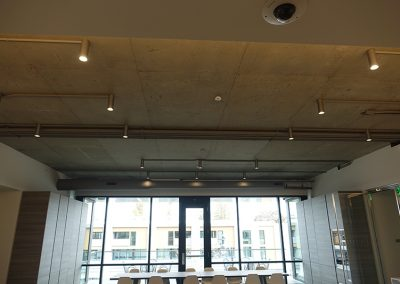Hard Lid Ceilings With Lighting Installation