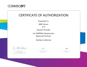 Commscope Systimax UTG Infrastructure