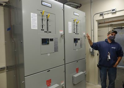 WBE Installed A New Electrical Riser System
