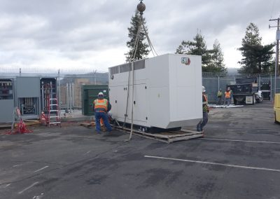 Installation Of Natural Gas Stand