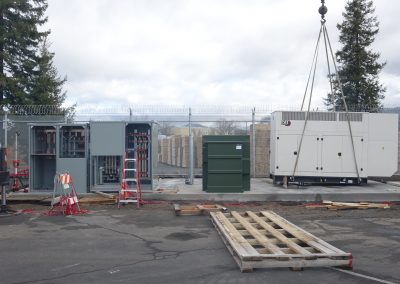 Generator Switchboard Equipped With Load Bank & Portable Generator Hookups