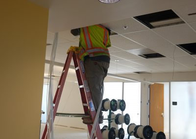 WBE Telcom Replaced Existing Cabling On Nine Floors